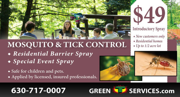 Mosquito and Tick Control Coupon from Green T
