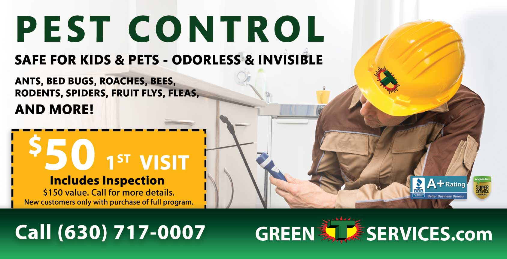Pest Control Special Offer